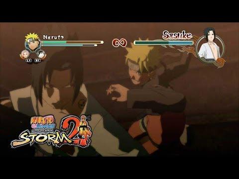 Наруто против Саске | Naruto Shippuden: Ultimate Ninja Storm 2 Русские субтитры