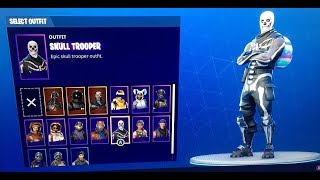 SELLING FORTNITE ACCOUNTS OG NAMES HALLOWEEN SKINS