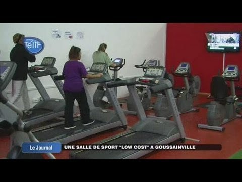 une salle de sport low cost goussainville youtube. Black Bedroom Furniture Sets. Home Design Ideas