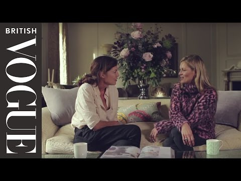 Kate Moss Interview: Inside the Home of Kate Moss | Kates World | All Access Vogue | British Vogue