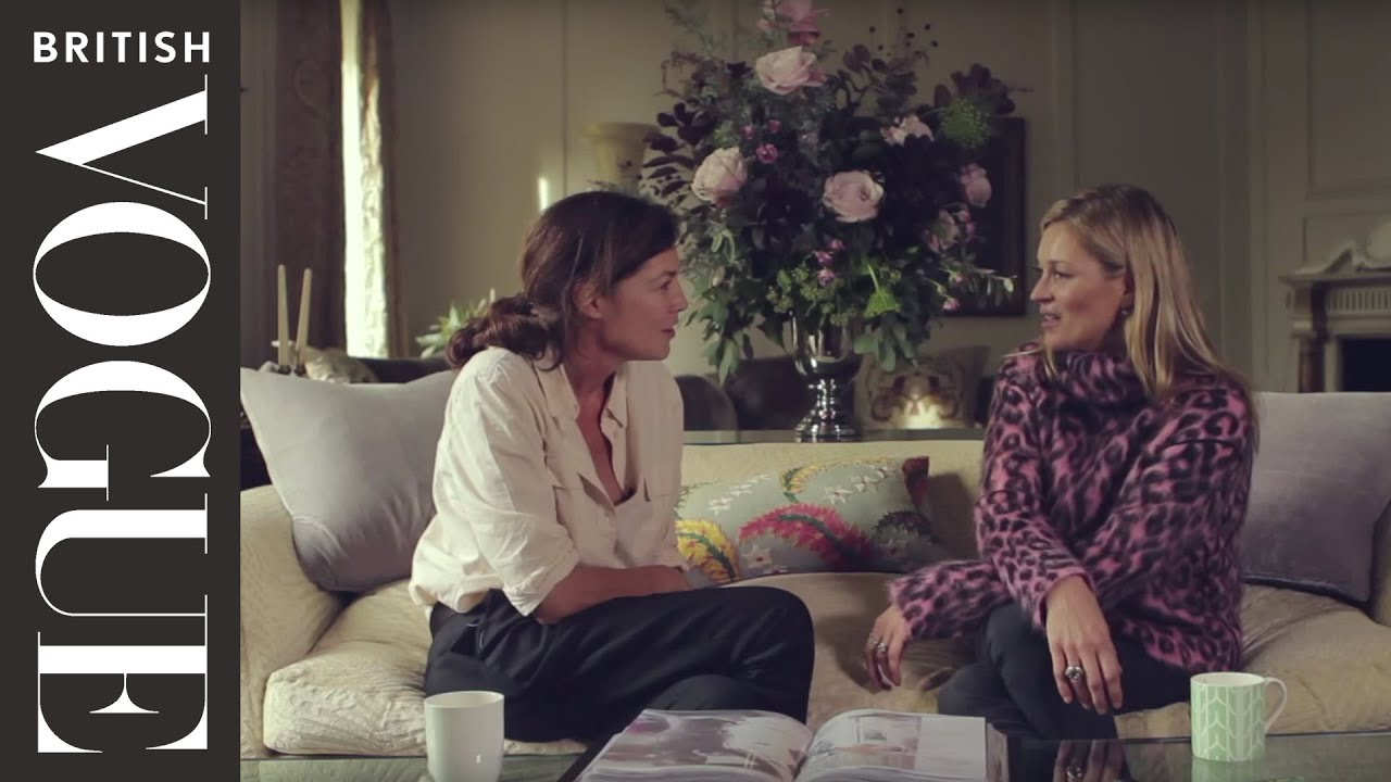 Kate Moss interview: Inside the home of Kate Moss (Kate's world ...