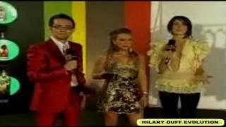 HILARY DUFF PREMIOS MTV 2007