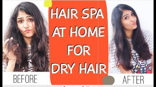 NATURAL DEEP CONDITIONING HAIR MASK AT HOME FOR DRY AND FRIZZY HAIR