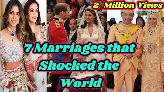 7 Most Expensive Weddings Ever in the History 7 Wonders of the World