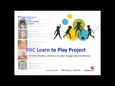 RBC Learn to Play Introductory Webinar 2016