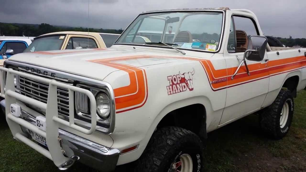 Dodge Power Wagon 1977 >> 1978 Dodge Ramcharger Top Hand Edition @ Carlisle All Chrysler Nationals - YouTube