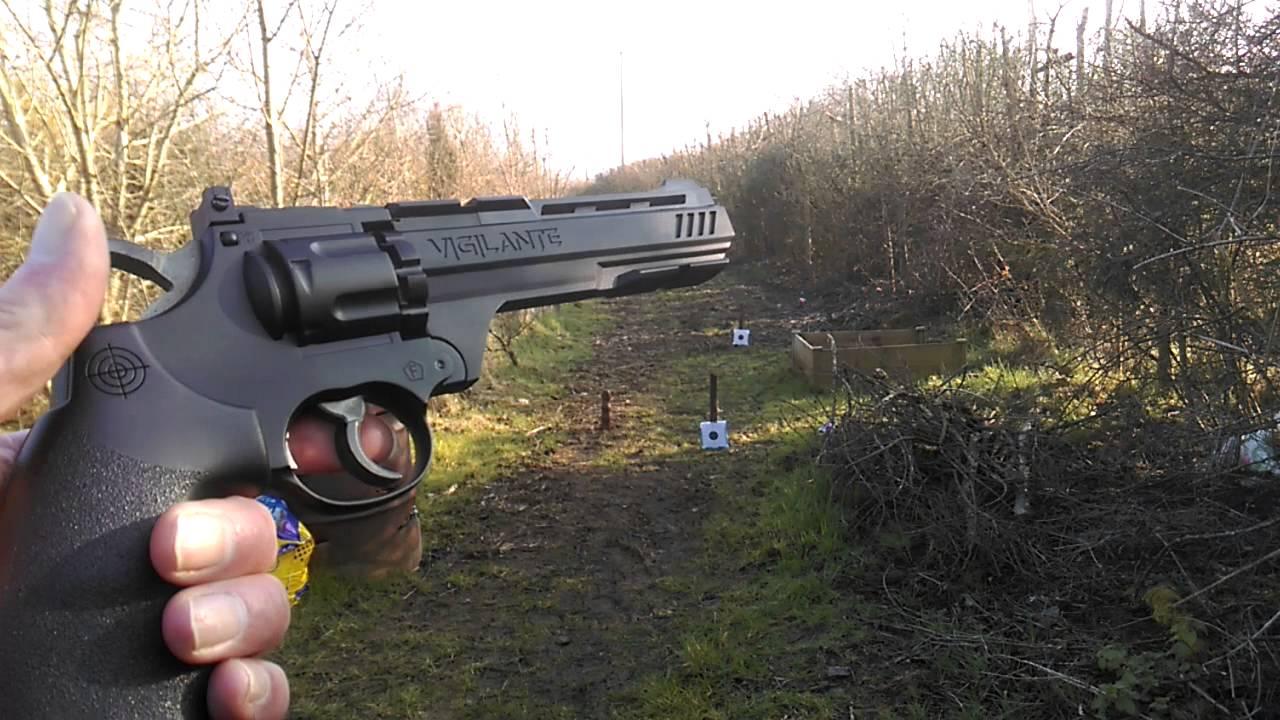 Crosman Vigilante accuracy test