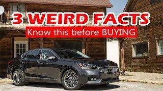 Interesting family choice sedan - 2018 Kia Cadenza    AA TOP AUTO   