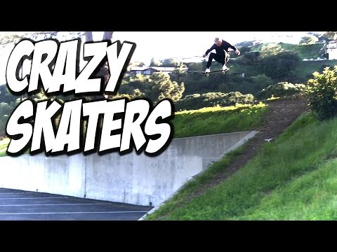 3 CRAZY NEW SKATERS !!! - A DAY WITH NKA