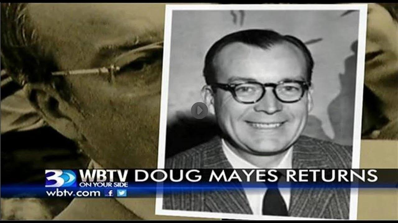 Doug Mayes Returns to WBTV Charlotte | Sept  27, 2013 | Molly Grantham |  Paul Cameron | Eric Thomas