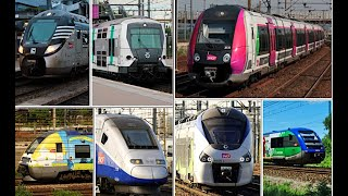 TOP 10 Most Beautiful Trains in France ! フランスの美しい電車TOP10