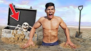 I FOUND AN ABANDONED TREASURE BOX AT THE BEACH   108Life Hacks