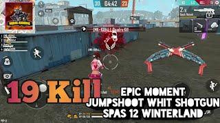 Selamat Hari Valentine's   Epic Moment Jumpshoot Whit Shotgun Spas Winterland