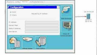 Configuration RIP et route par defaut avec DHCP