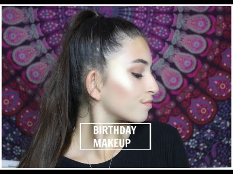 MY GLOWY BIRTHDAY MAKEUP TUTORIAL! ⎮ DICLE POLAT