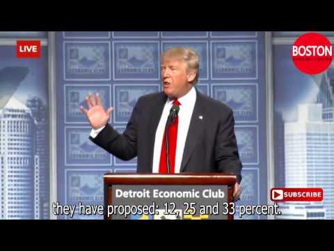 Donald Trump Presidential Announcement Speech English subtitles