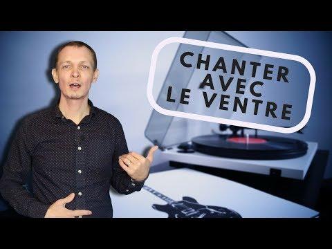 Apprendre à CHANTER avec le VENTRE [Exercice] - #BienChanter n°54