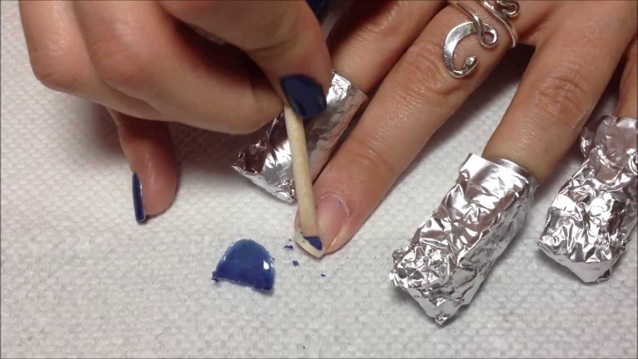 How to Remove Gel Polish from Home - YouTube