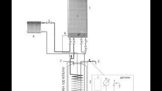 Как подключить бойлер косвенного нагрева(http://gidroraschet.ru., 2014-06-09T05:28:30.000Z)