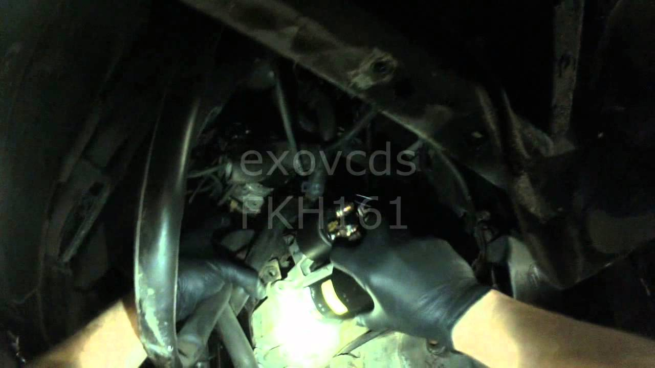 VW T4: Eurovan Starter Removing (standard transmission)