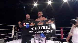 Mohamed Abdallah wins 110.000€-8 men-tournament - HIGHLIGHTS A1 World Combat Cup Hasselt