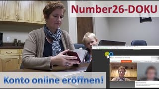Number26 ► Konto eröffnen ◄ Video-Dokumentation