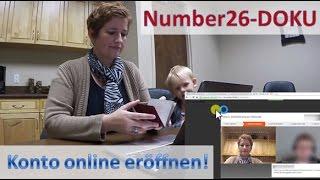 Number26 ► Konto eröffnen ◄ Video-Dokumentation
