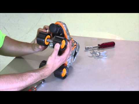 Intro to roller skate maintenance!