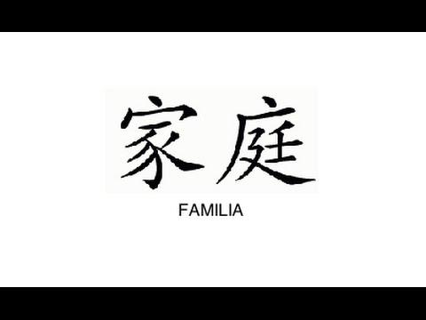 Letras Chinas Y Sus Significados Youtube