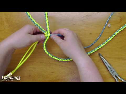 paracord dog lead instructions