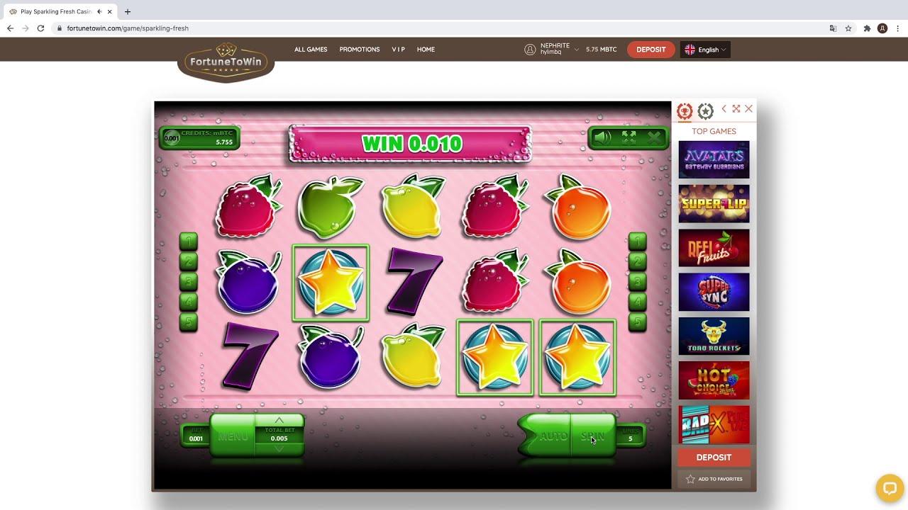 Крутим Слоты Казино Онлайн с Бонусами За Регистрацию и Первый Депозит! Sparkling Fresh Слот.