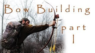 How To Make A Longbow - Part 1: Backing An Osage Stave