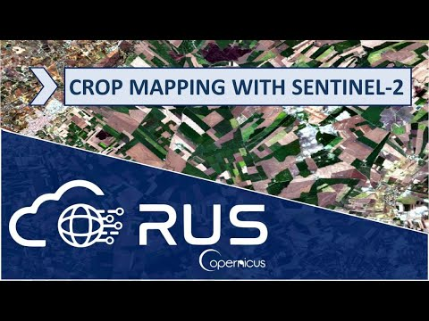 RUS Webinar: Crop mapping with Sentinel-2 - LAND01