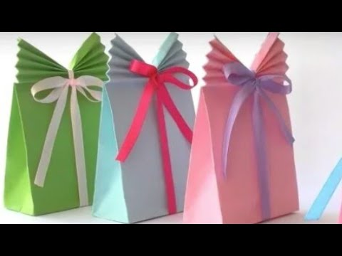 Diy gift packing ideas | paper bag | gift wrapping | creative gift packaging