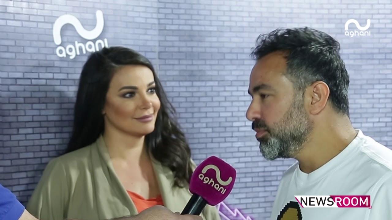 مروان الشامي ونانسي نصرالله : تجمعنا قصة حبّ فني وبهذه الطريقة سنستغلّ ديو