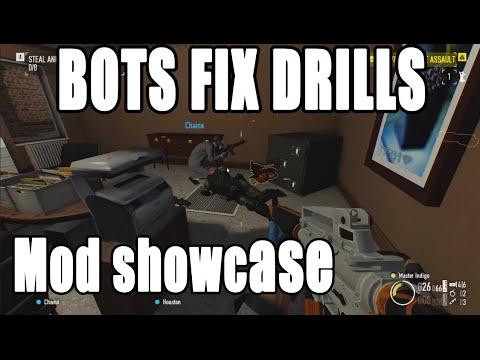BOTS FIX DRILLS - Payday 2 Mod Showcase #16