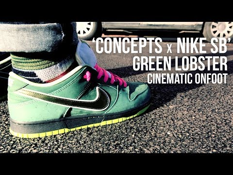 concepts-x-nike-sb-dunk-green-lobster-cinematic-onfoot-review-...-look-out-for-the-purple!!!