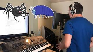"""The Itsy Bitsy Spider 