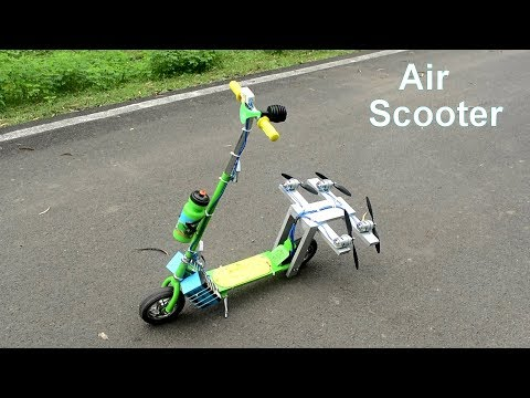 How To Make Air Scooter with v4 775 Motor  - Electric Scooter