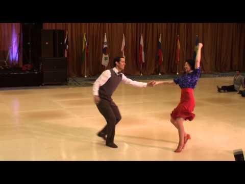 ILHC 2013 - Pro Am - Eran Tobi & Sharon Davis