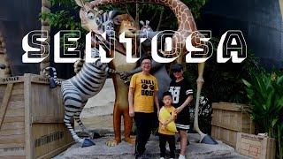 Berlibur Seharian di Sentosa - Aquarium, LUGE, Pantai, Universal Studio - Singapore Travel Vlog