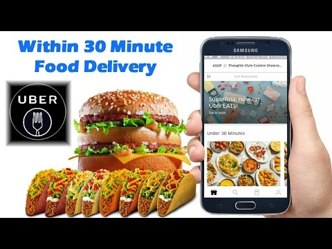 Within 30 Minute Food Delivery || UberEATS Food Delivery - By TIIH