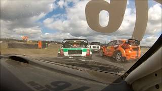 Rallicross SM 2018 Botniaring Mikko Ikonen supercar Saab 9-3