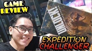 Unlock! Exotic Adventures - Expedition : Challenger tabletop board game review (first version)