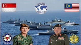 Singapore VS Malaysia Military Power Comparison 2017