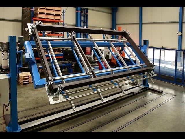Rahmenschweißvorrichtung für den Balkonbau-Förster-Welding-Systems