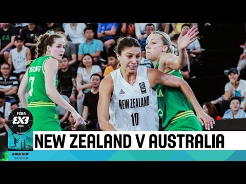 New Zealand v Australia - Semi-Finals - Women's Full Game - FIBA 3x3 Asia Cup 2018
