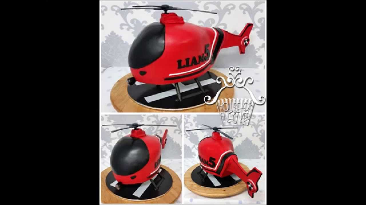 How To Make Helicopter Cake Youtube