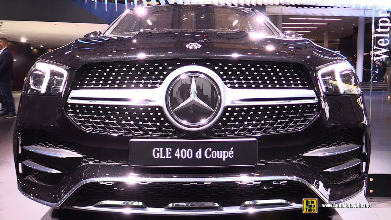 2020 Mercedes GLE 400d Coupe - Exterior and Interior Walkaround - 2019 Frankfurt Motor Show 2