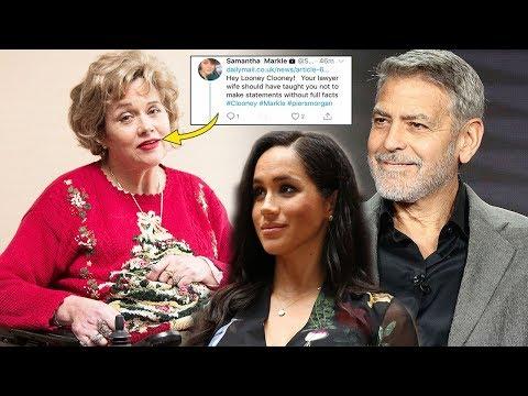Samantha Markle slams George Clooney after he defended her half-sister Meghan Markle
